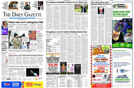 The Daily Gazette – February 19, 2019