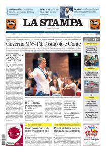 La Stampa Milano - 24 Agosto 2019