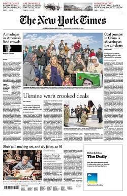 International New York Times - February 21, 2018