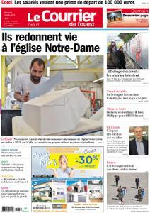 Le Courrier de l'Ouest Cholet – 15 mai 2019