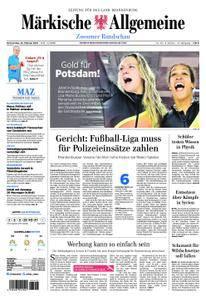 Märkische Allgemeine Zossener Rundschau - 22. Februar 2018