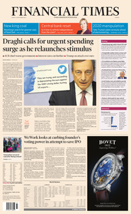 Financial Times Europe – 13 September 2019