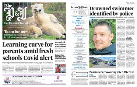 The Press and Journal Moray – August 18, 2020