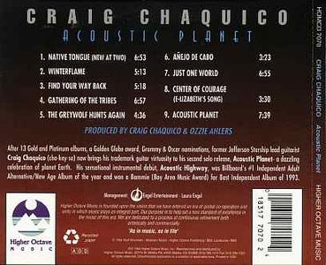 Craig Chaquico - Acoustic Planet (1994)