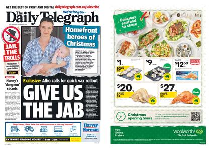The Daily Telegraph (Sydney) – December 23, 2020