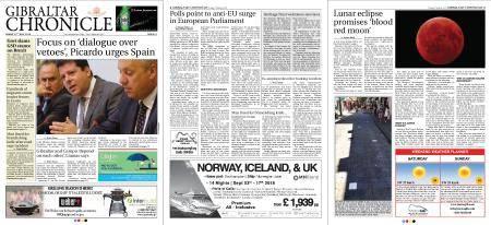 Gibraltar Chronicle – 27 July 2018