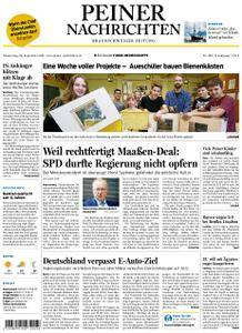 Peiner Nachrichten - 20. September 2018