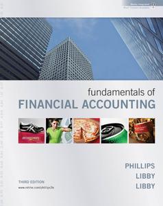 Fundamentals of Financial Accounting - Third Edition
