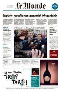 Le Monde du Mercredi 15 Novembre 2017