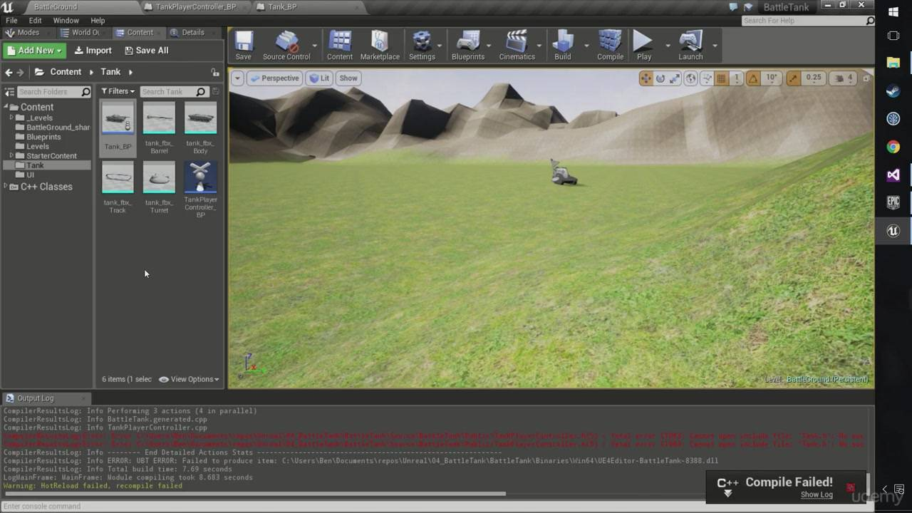 Udemy - The Unreal Engine Developer Course - Learn C++ & Make Games