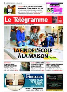 Le Télégramme Brest Abers Iroise – 26 octobre 2020