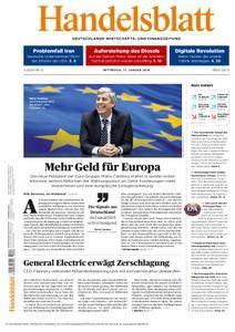 Handelsblatt - 17. Januar 2018