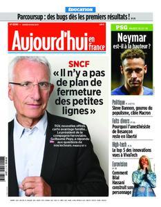 Aujourd'hui en France – 18 mai 2019