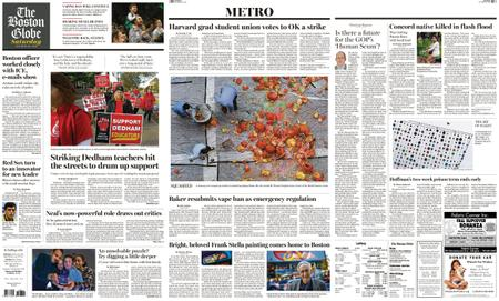 The Boston Globe – October 26, 2019