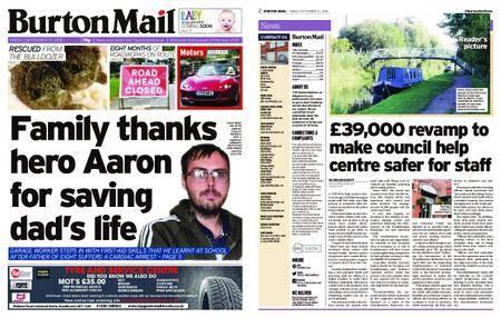 Burton Mail – September 21, 2018
