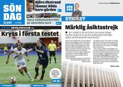 Ålandstidningen – 04 februari 2018