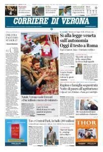 Corriere di Verona - 16 Novembre 2017