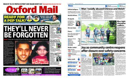 Oxford Mail – August 26, 2017