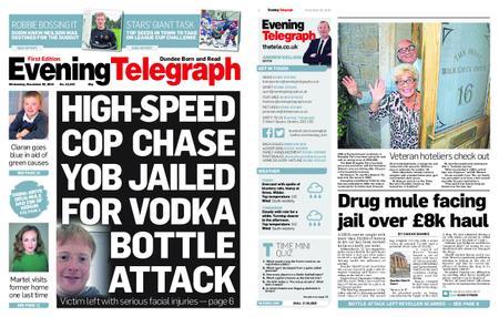 Evening Telegraph First Edition – November 28, 2018