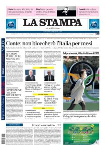 La Stampa Torino Provincia e Canavese - 25 Marzo 2020