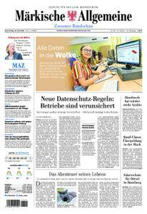 Märkische Allgemeine Zossener Rundschau - 24. Mai 2018