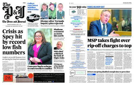The Press and Journal Moray – November 29, 2018