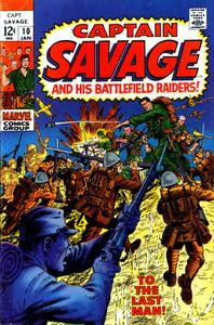 Captain Savage and his Battlefield Raiders 10 HD (Jan 1969) c2c