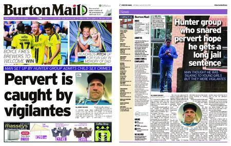 Burton Mail – August 20, 2018