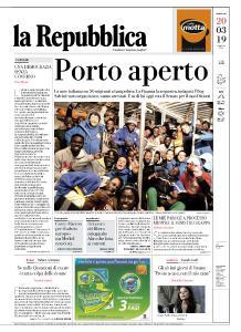 la Repubblica - 20 Marzo 2019
