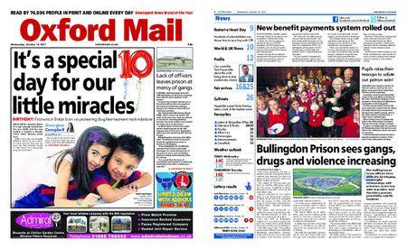 Oxford Mail – October 18, 2017