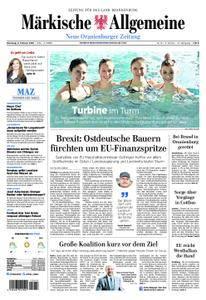 Neue Oranienburger Zeitung - 06. Februar 2018