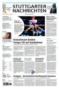 Stuttgarter Nachrichten Blick vom Fernsehturm - 09. Oktober 2019