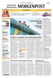 Solinger Morgenpost – 09. Oktober 2019