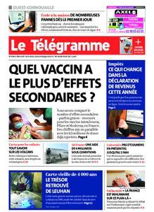 Le Télégramme Ouest Cornouaille – 07 avril 2021