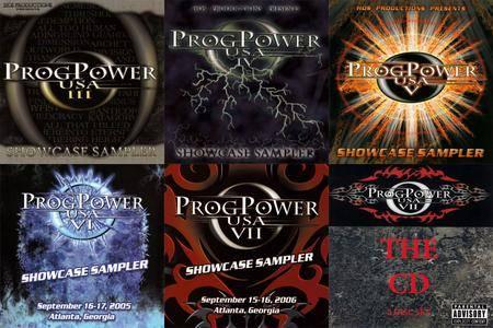 VA: ProgPower USA III-VII (2002-2006)