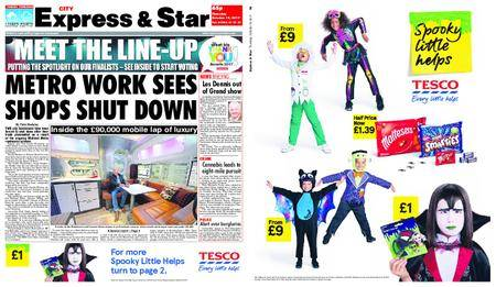 Express and Star City Edition – October 19, 2017