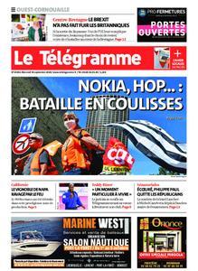 Le Télégramme Ouest Cornouaille – 30 septembre 2020