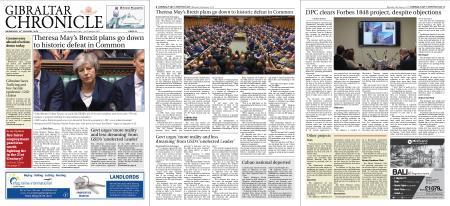 Gibraltar Chronicle – 16 January 2019