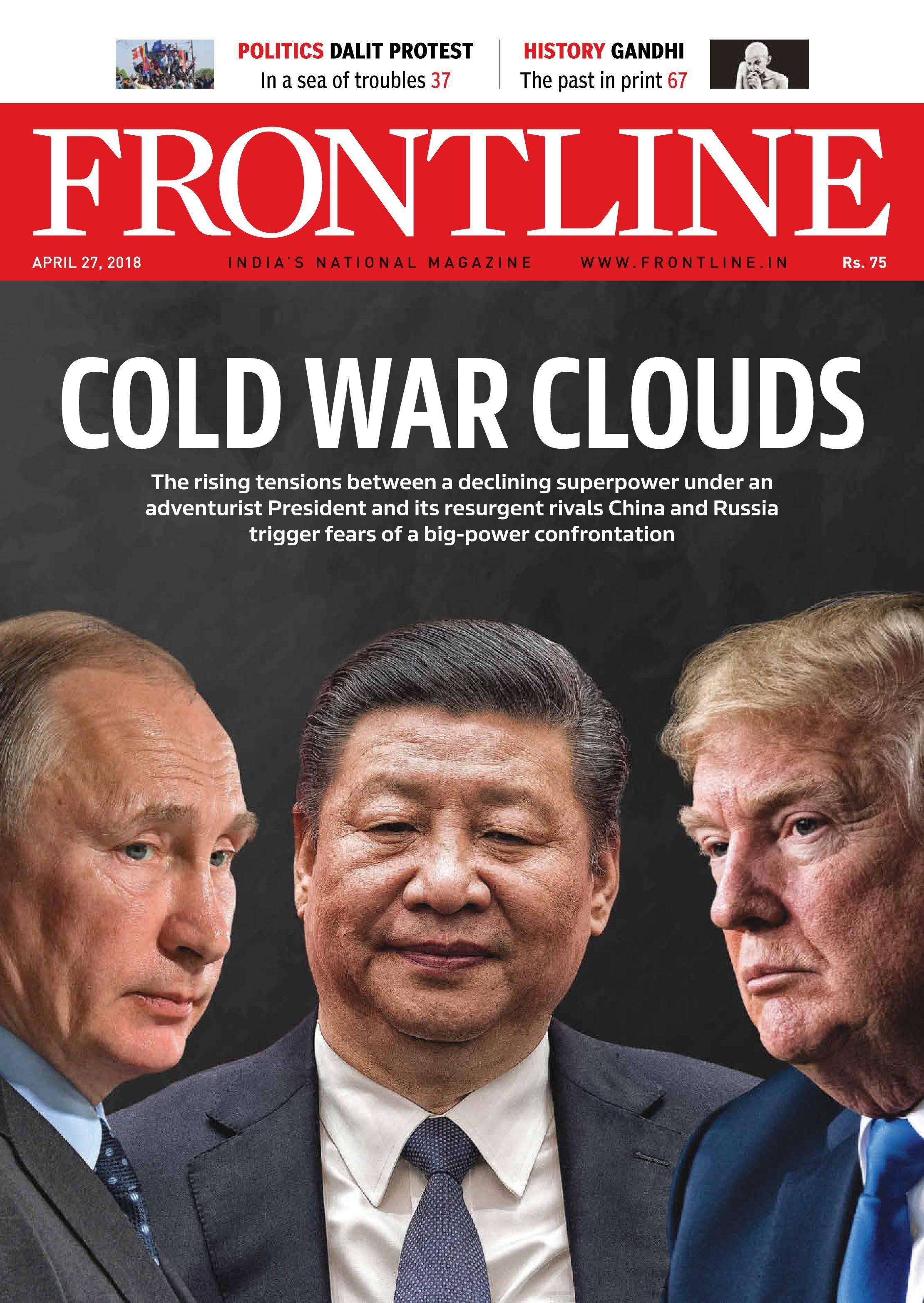 Frontline - April 27, 2018