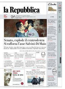 la Repubblica - 24 Marzo 2018