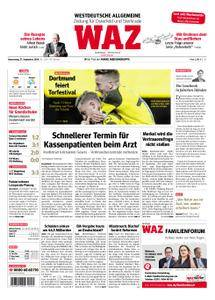 WAZ Westdeutsche Allgemeine Zeitung Oberhausen-Sterkrade - 27. September 2018