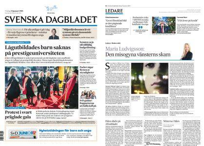 Svenska Dagbladet – 23 januari 2018