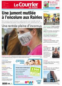 Le Courrier de l'Ouest Cholet – 31 août 2020