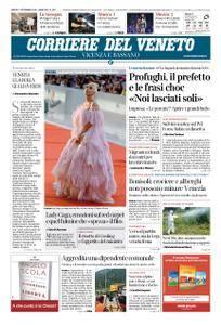Corriere del Veneto Vicenza e Bassano – 01 settembre 2018