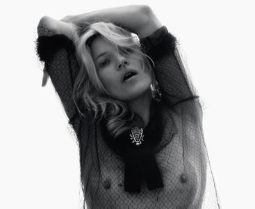 Kate Moss by David Sims for LOVE Magazine #14 Fall/Winter 2015-2016