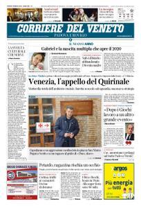 Corriere del Veneto Padova e Rovigo – 02 gennaio 2020