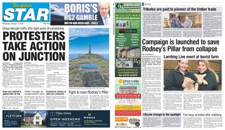 Shropshire Star Shrewsbury Edition – February 12, 2020