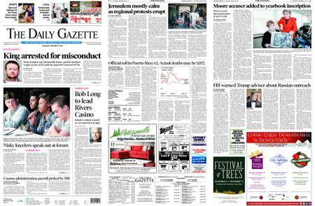 The Daily Gazette – December 09, 2017
