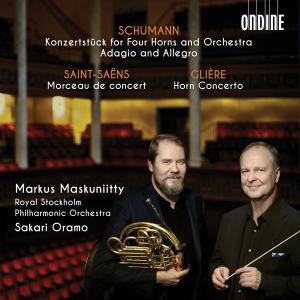 Markus Maskuniitty - Schumann, Saint-Saëns & Glière: Works for Horn & Orchestra (2019)
