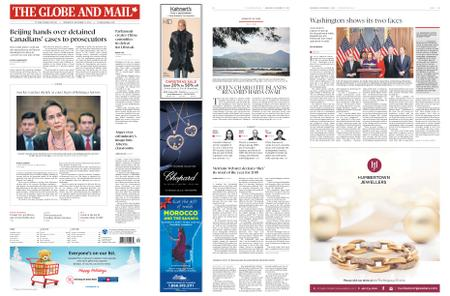 The Globe and Mail – December 11, 2019